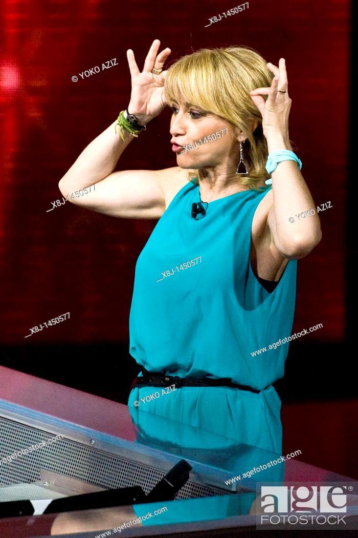 Imagen: 29 05 2011  Milan  Telecast 'Che tempo che fa'  Luciana Littizzetto.