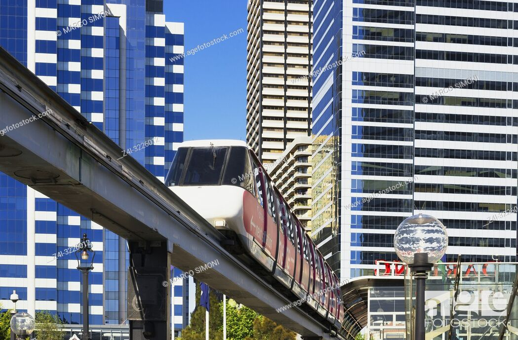 Imagen: Monorail, Sydney, New South Wales, Australia,.