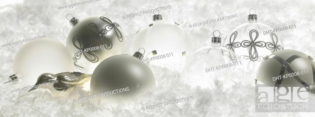 Stock Photo: Christmas Baubles.