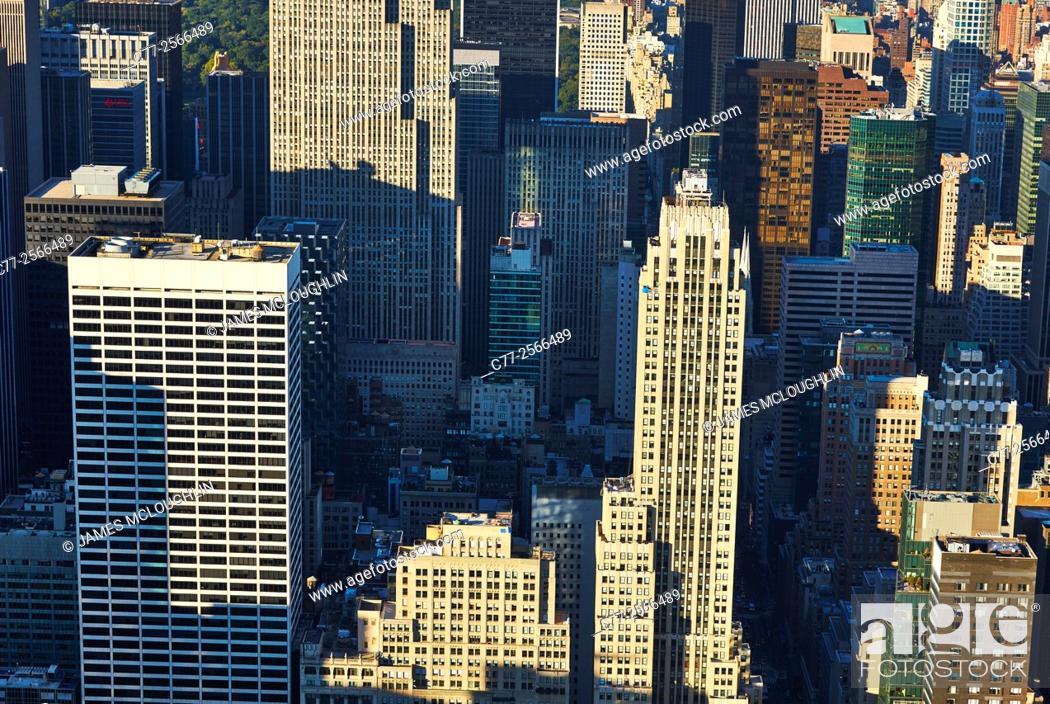 Imagen: New York City, Manhattan, Skyline, Skyscrapers, Uptown.
