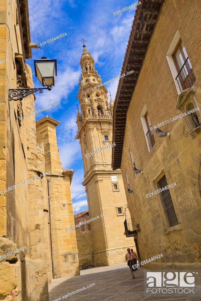 Imagen: Bell Tower, Free-Standing Tower, Cathedral of Santo Domingo de la Calzada, Renaissance Style, Baroque Style, Historic-Artistic Monument.
