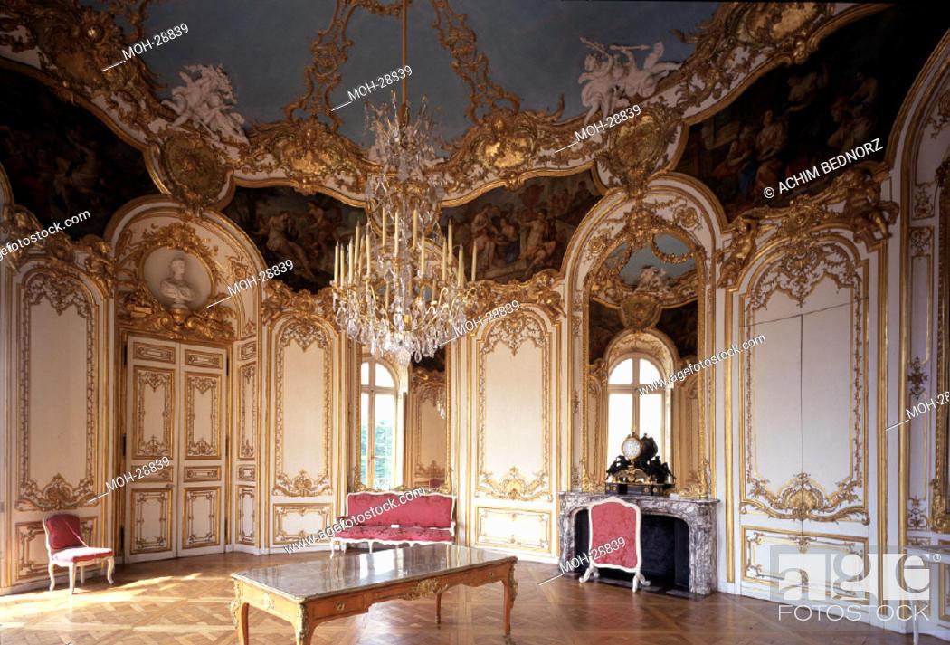 Paris hotel de soubise salon de la princesse de soubise 1735 stock photo picture and rights - Salon de la photo a paris ...