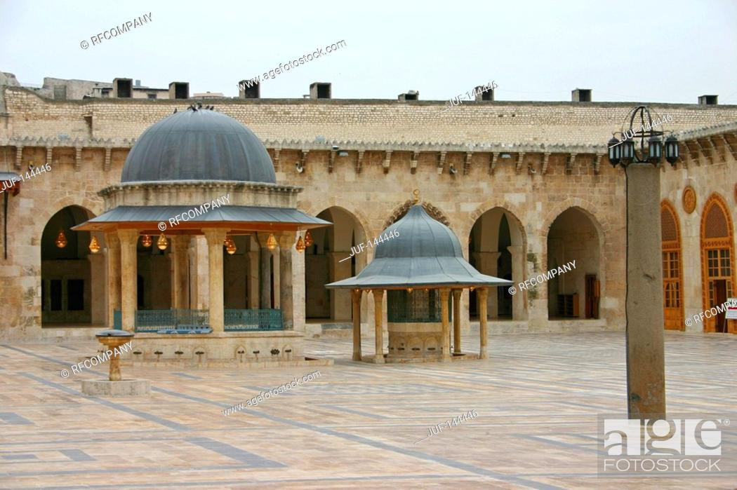 Stock Photo: Syria - Aleppo - Great Mosque.