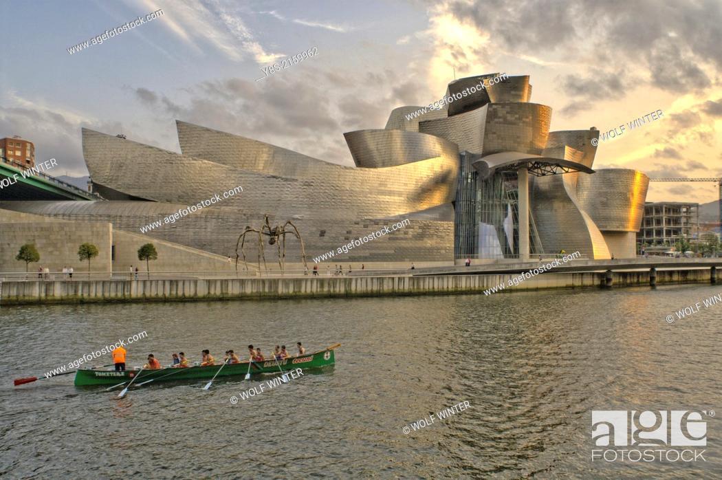 Photo de stock: Guggenheim Museum, Bilbao, Spain.