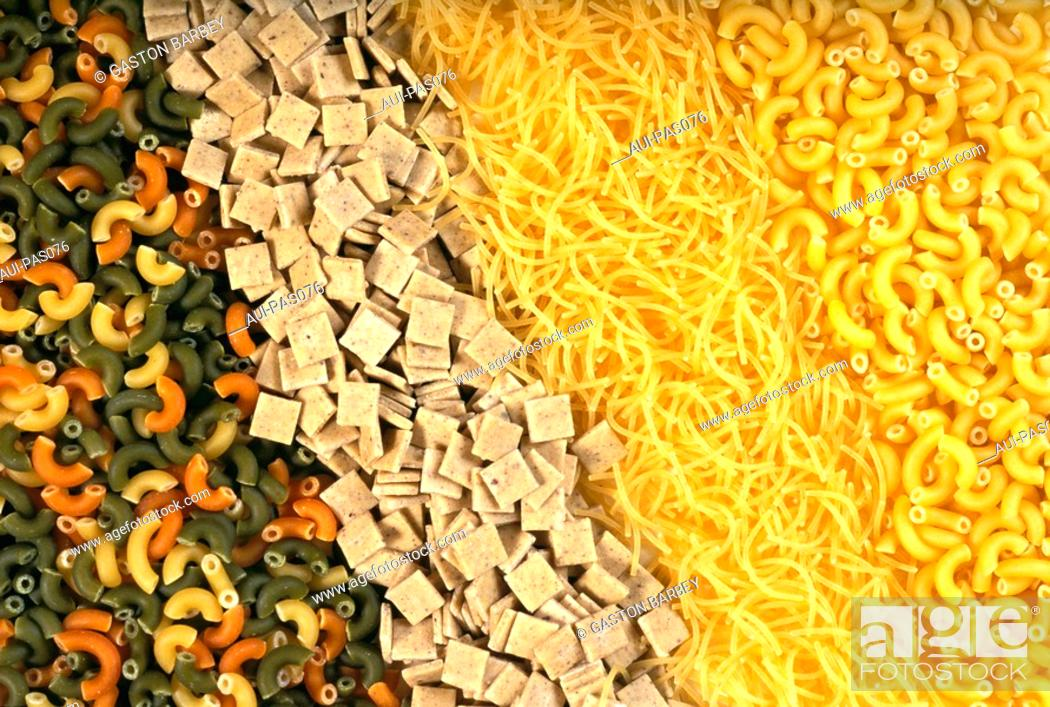 Stock Photo: Pasta - Assorted Pasta.