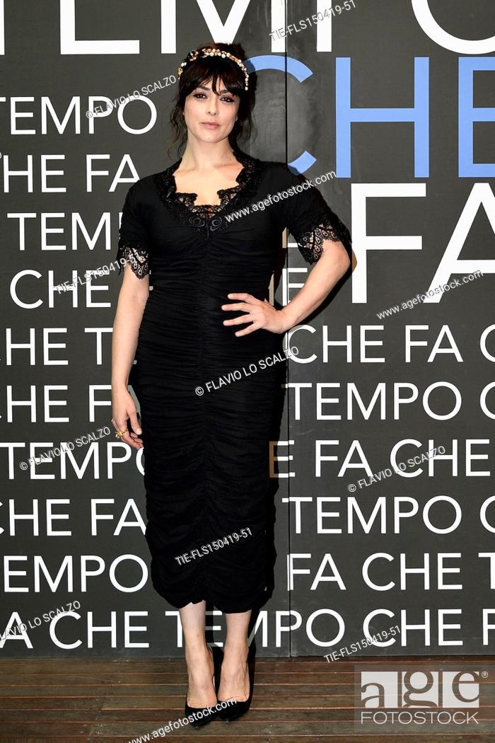 Imagen: Valentina Lodovini during the tv show Che tempo che fa, Milan, ITALY-14-04-2019.