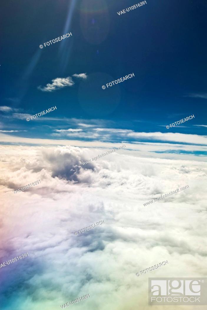 Stock Photo: Sea of cloud.
