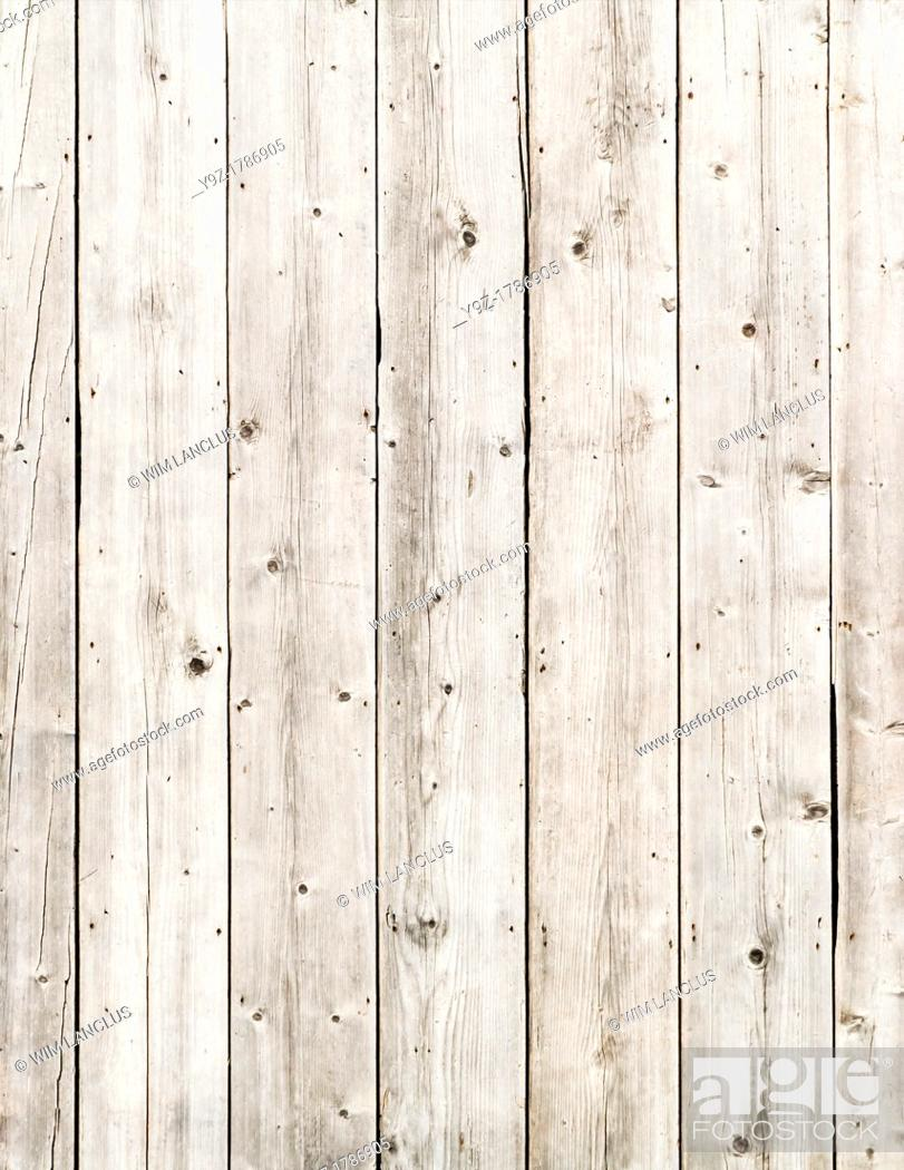 Stock Photo: Grey wood wall background from old barn.