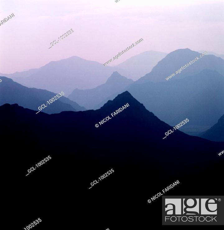 Stock Photo: Mountain landscape in Iran.
