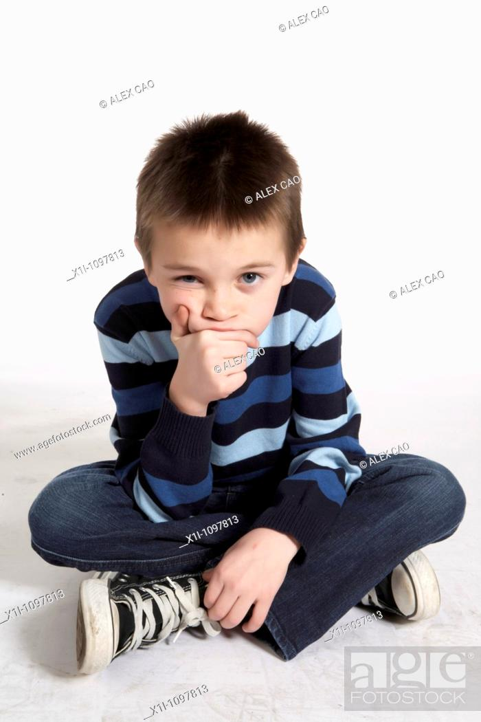 Stock Photo: Portrait of boy.