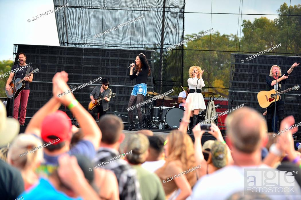 Stock Photo: 1st annual Kiss 99.9 Chilli Cookoff at CB Smith Park Featuring: Jimi Westbrook, Karen Fairchil, Kimberly Roads Schlapman.