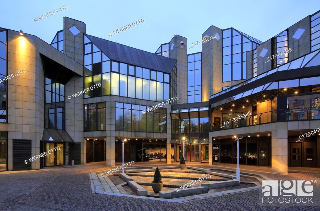 Imagen: Dortmund, Syburg, D-Dortmund, Ruhr area, Westphalia, North Rhine-Westphalia, NRW, D-Dortmund-Syburg, Ardey Hills, Casino Hohensyburg, gambling casino.