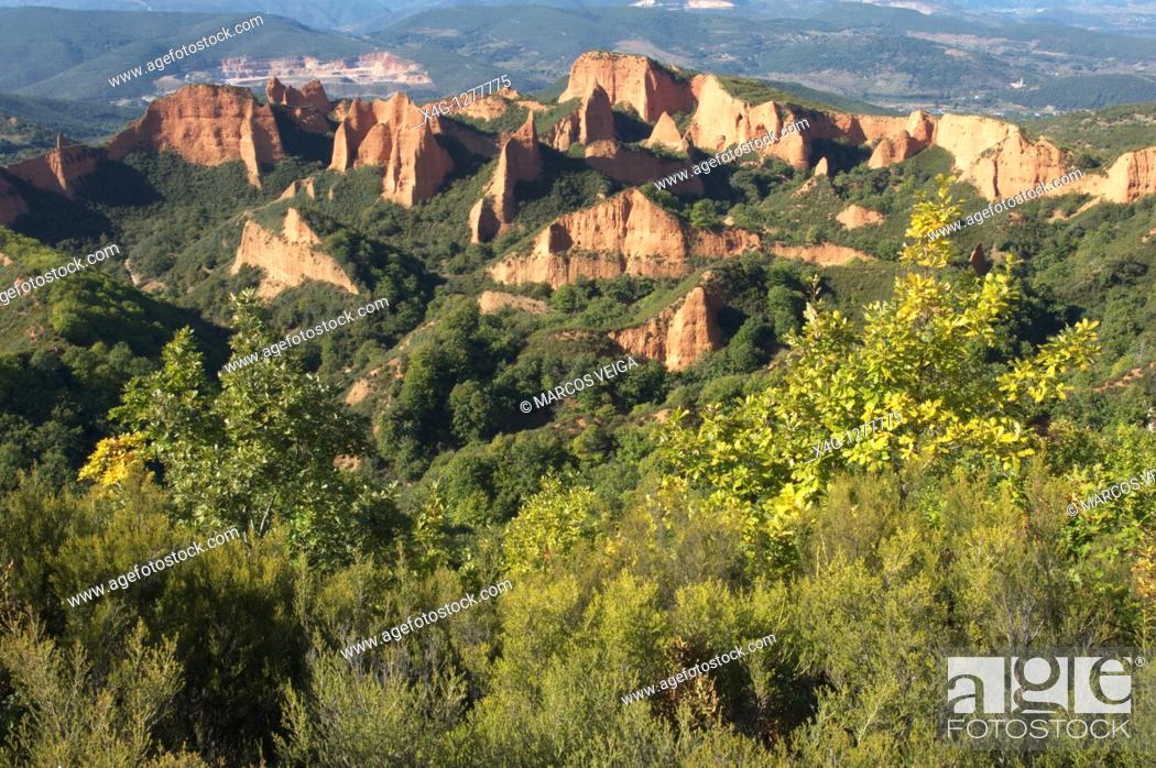 Stock Photo: Las Medulas, Leon, Spain.