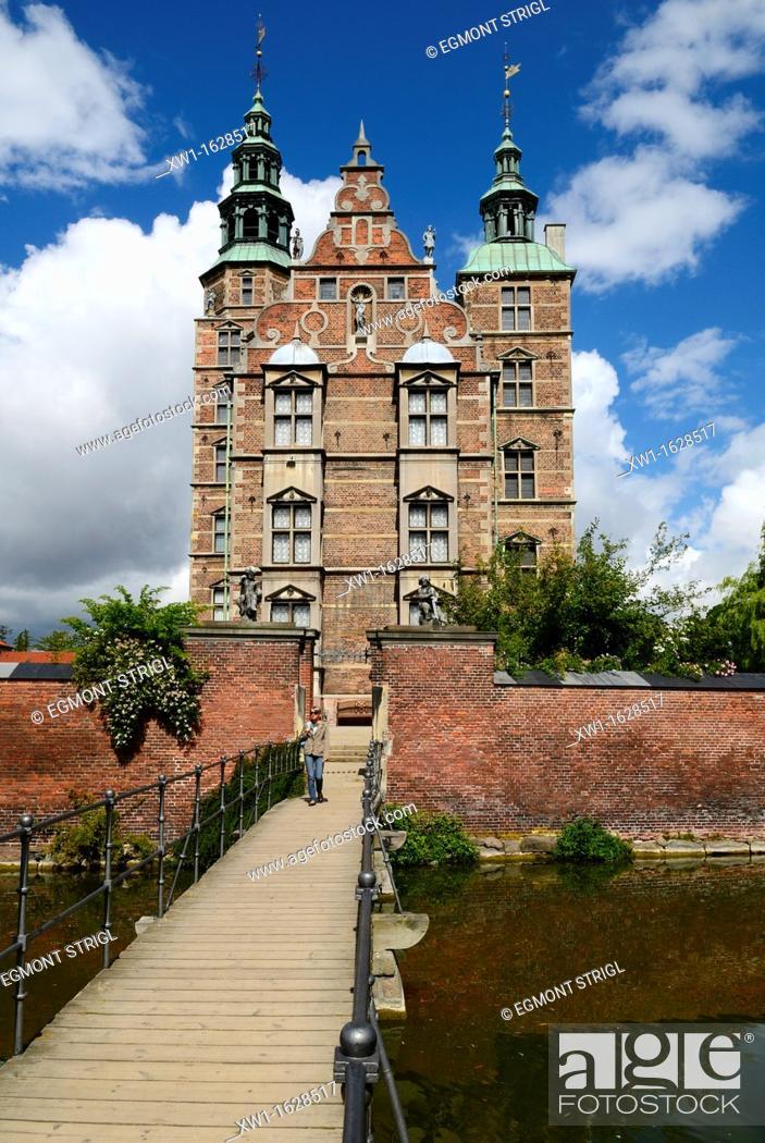Imagen: Rosenborg castle, Copenhagen, Danmark, Scandinavia, Europe.