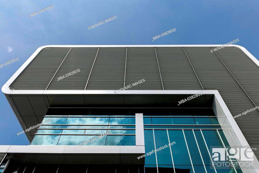 Stock Photo: Columbia Twins office building, Altona, Hamburg, Germany,.