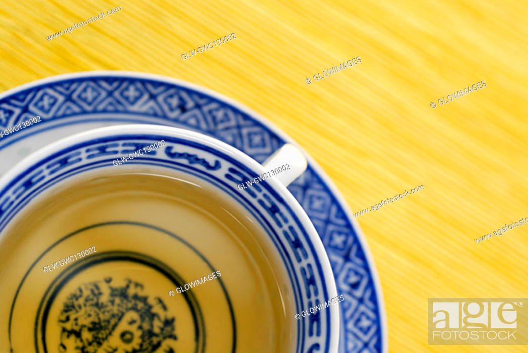 Stock Photo: Close-up of a cup of herbal tea.