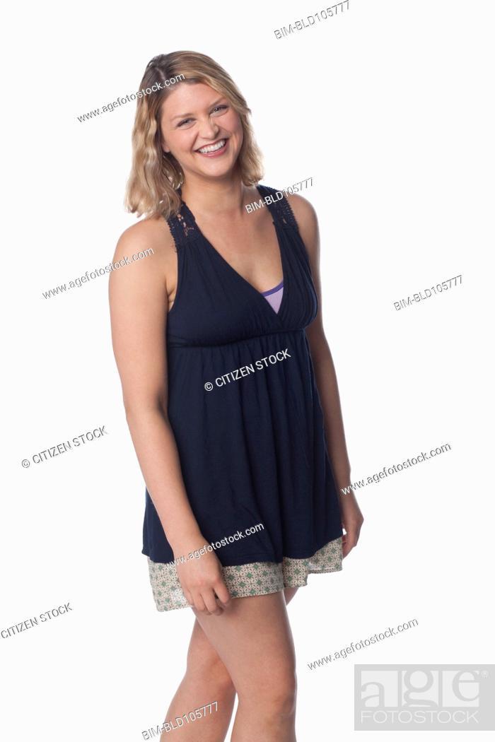 Imagen: Smiling Caucasian woman.