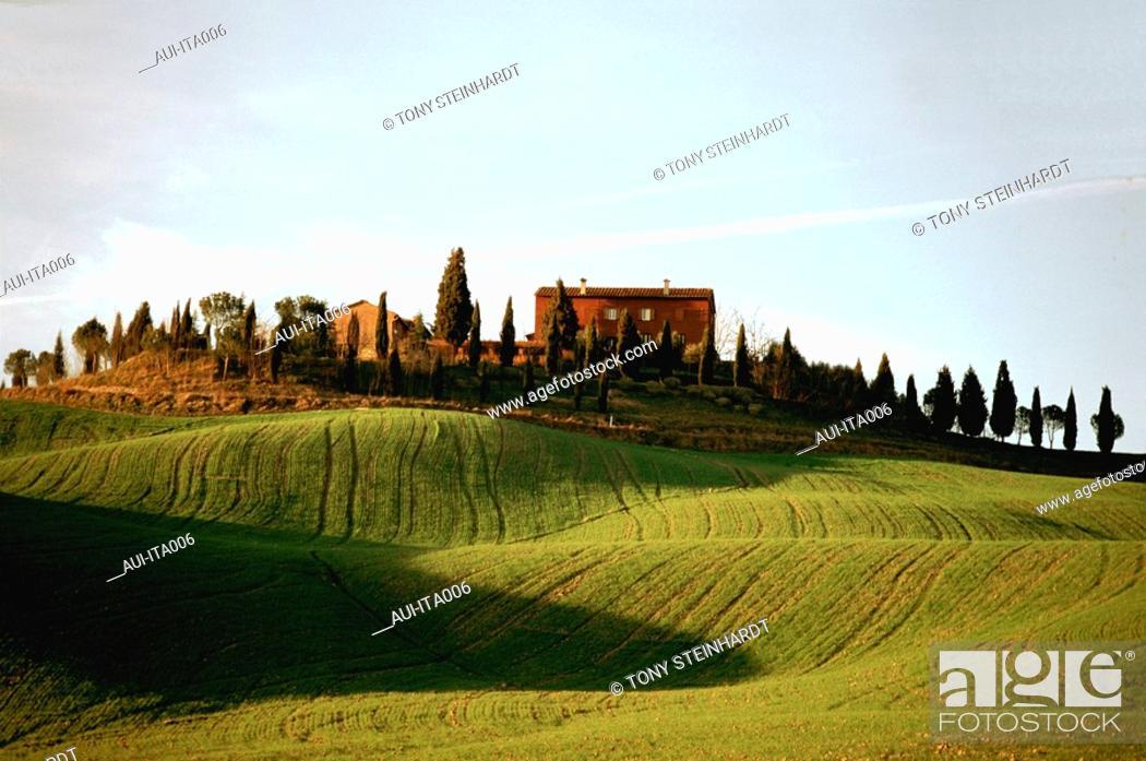 Stock Photo: Italy - Tuscany Countryside.