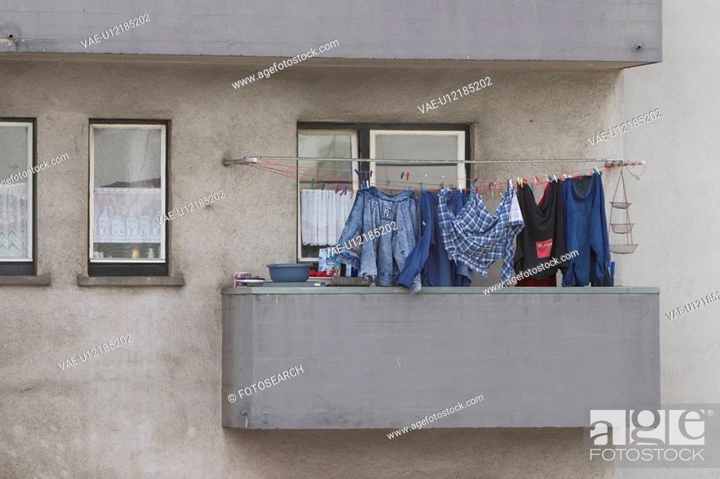 Stock Photo: establishment, structure, construction, windows, building, architecture.