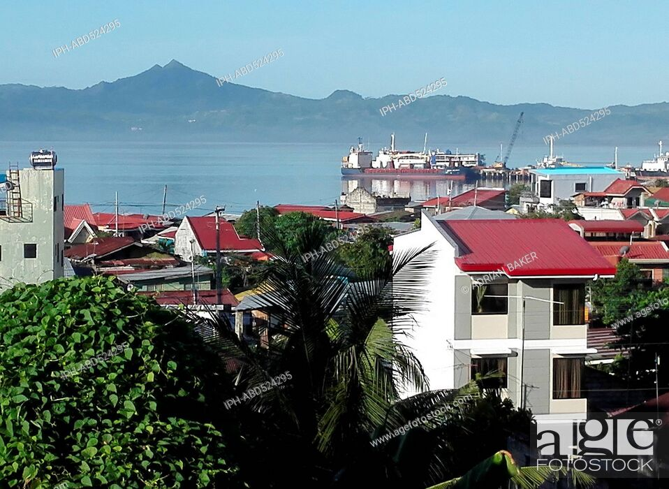 Imagen: Philippines Leyte Ormoc city General view .