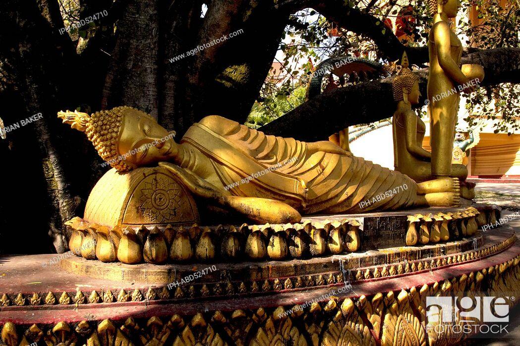Imagen: Laos Vientiane Wat That Luang Wat That Luang Neuh (North).