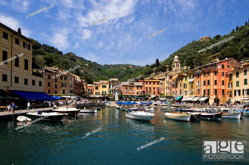Stock Photo: Portofino Riviera di Levante Liguria Italy.