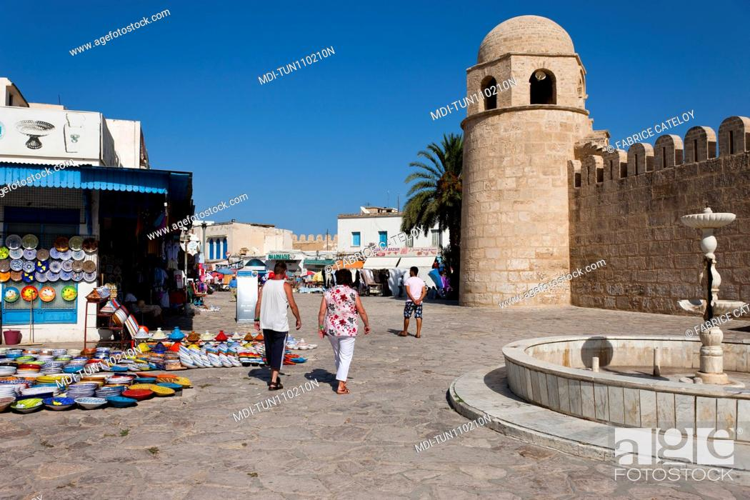 Imagen: Tunisia - Sousse - The central mosque.