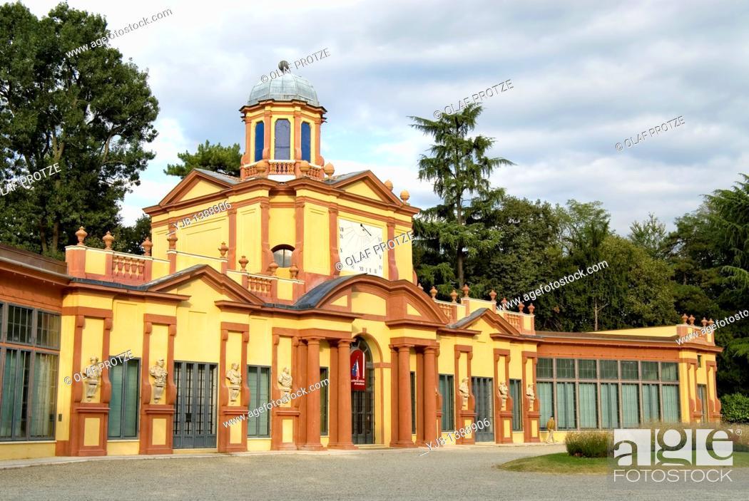Imagen: Palazzina dei Giardini pubblici at the historical town centre of Modena, North Italy.