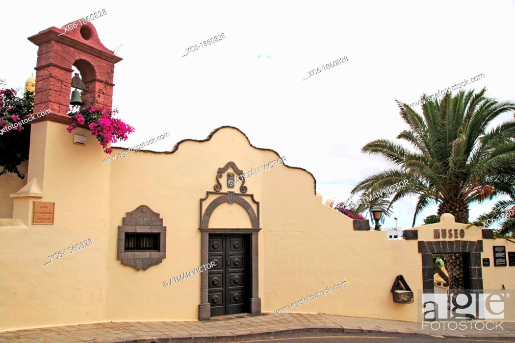 Stock Photo: Tanit Museum in San Bartolome, Lanzarote, Canary Islands, Spain.