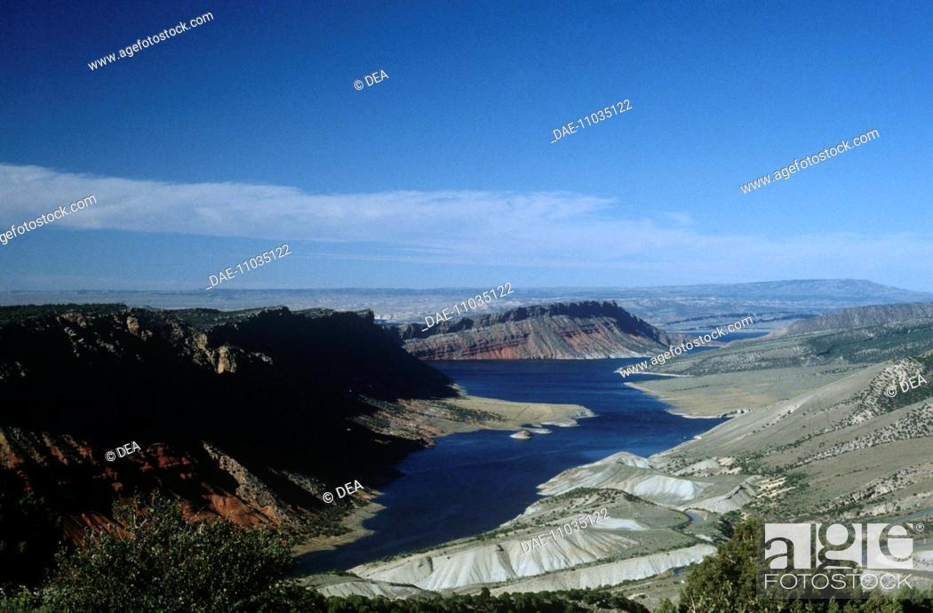 Stock Photo: United States of America - Utah - Green Lake.
