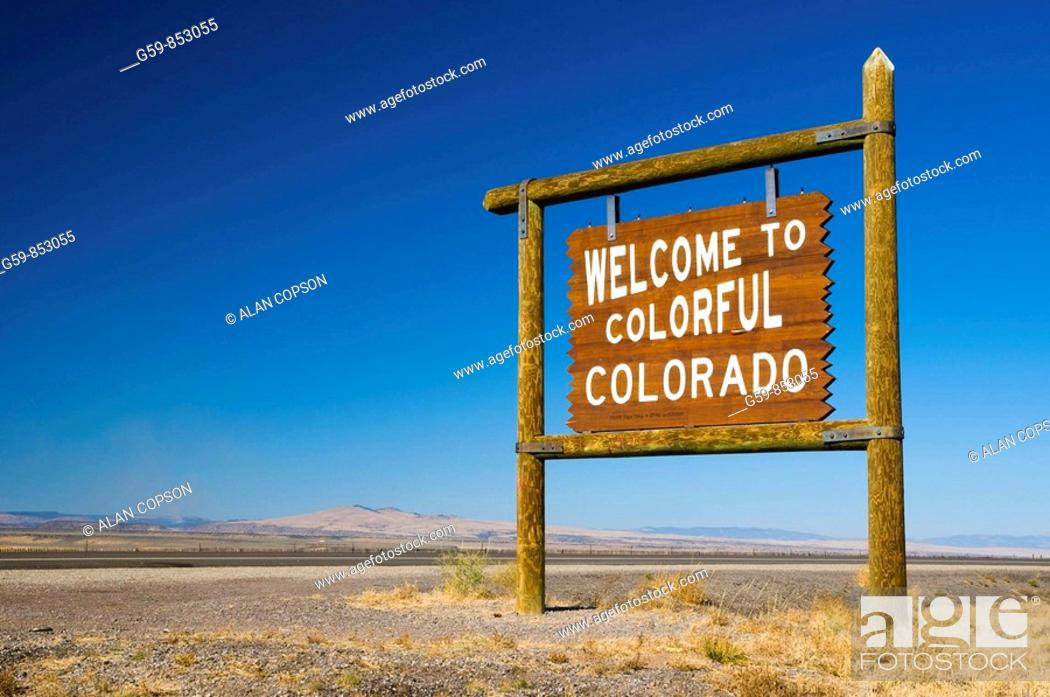 Imagen: USA, Colorado New Mexico Border.