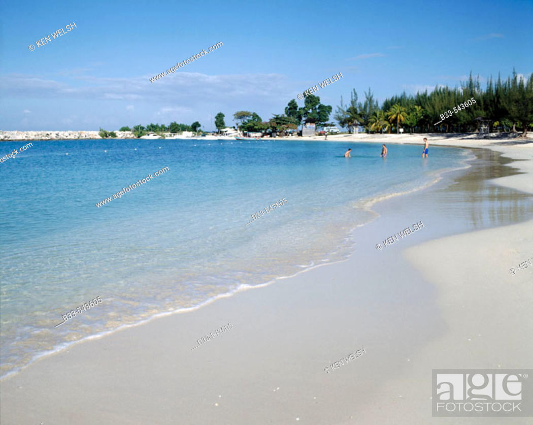 Walter Fletcher Beach Montego Bay Jamaica Caribbean