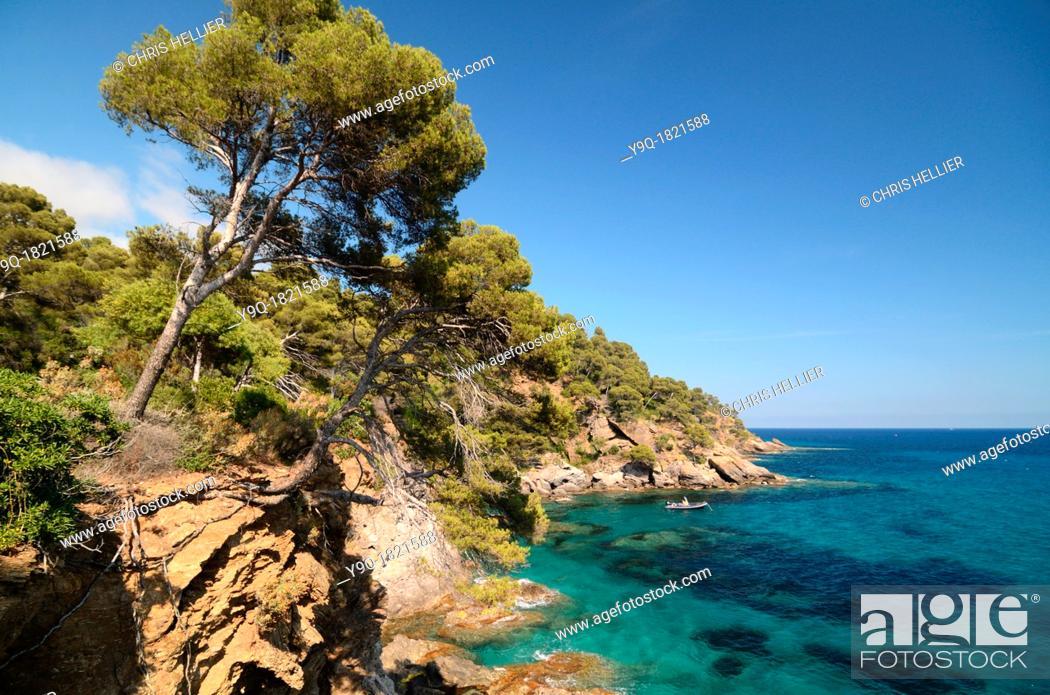 Mediterranean Coast At The Domaine De Rayol Rayol Canadel Sur Mer