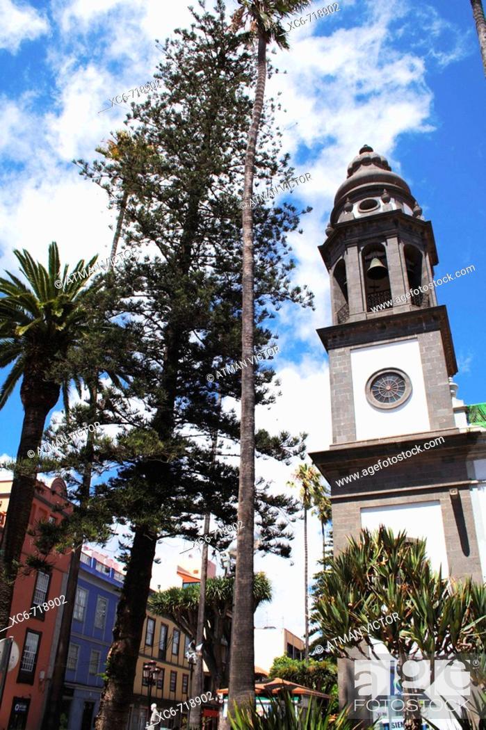 Stock Photo: La Concepcion church, San Cristóbal de La Laguna, Tenerife. Canary Islands, Spain.