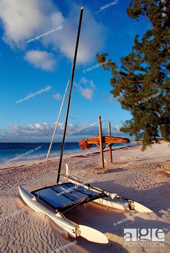 Stock Photo: Beach of Curacao, Caribbean Sea, Curacao.