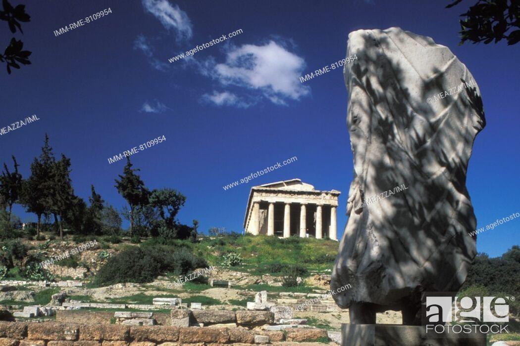 Imagen: The temple of Hephaestus  Athens, Attica, Greece.