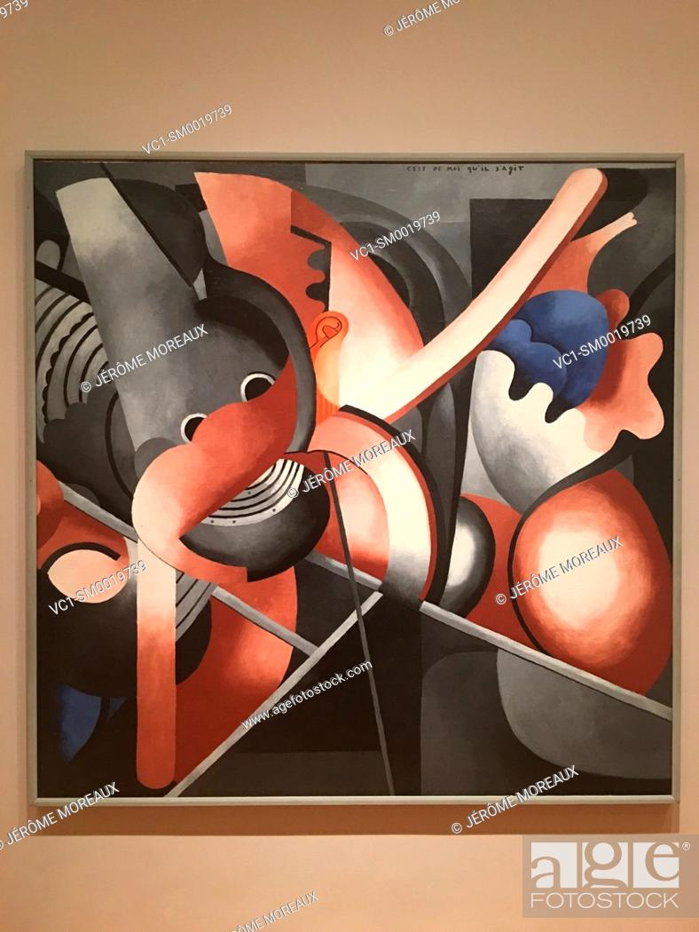 Imagen: It Has to Do with Me, Francis Picabia, 1914, Oil on canvas, Museum of Modern Art, New York.