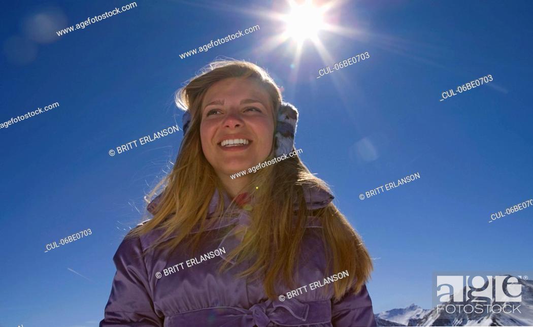 Stock Photo: Girl smiling.