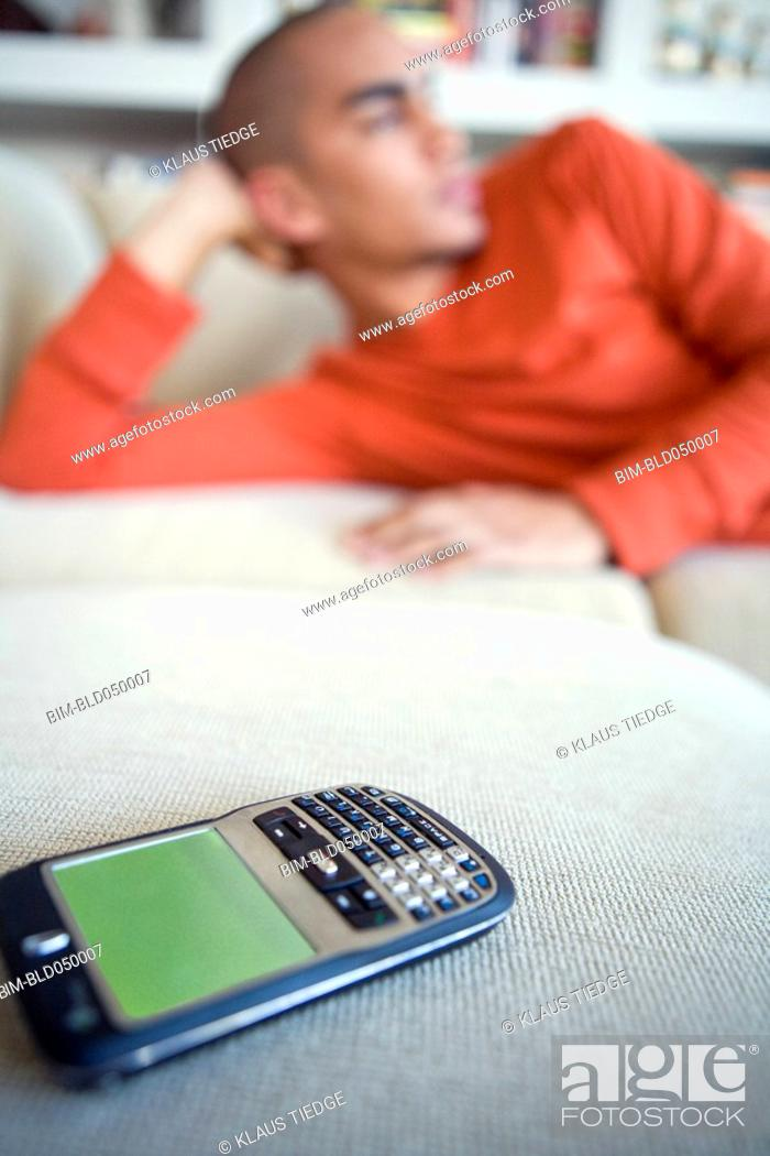 Stock Photo: Close up of cell phone.