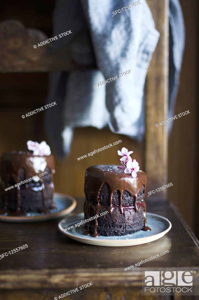 Imagen: Homemade chocolate cake.