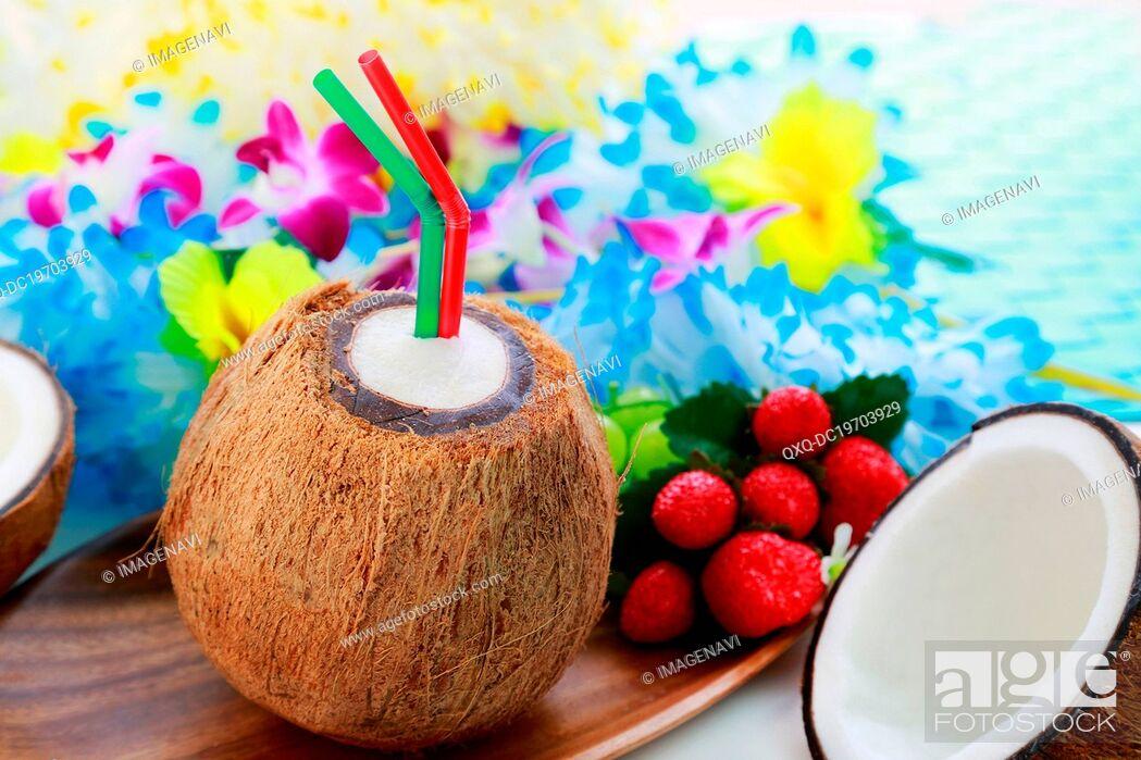 Imagen: Coconut juice.