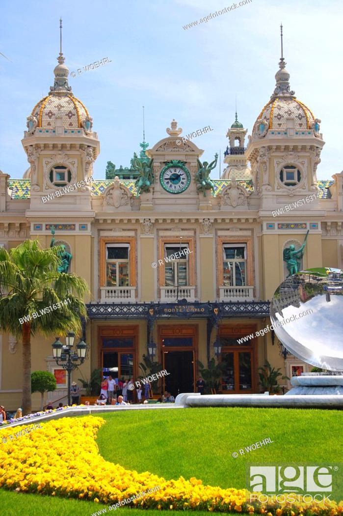 Casino In Monte Carlo France Monaco Stock Photo Picture And