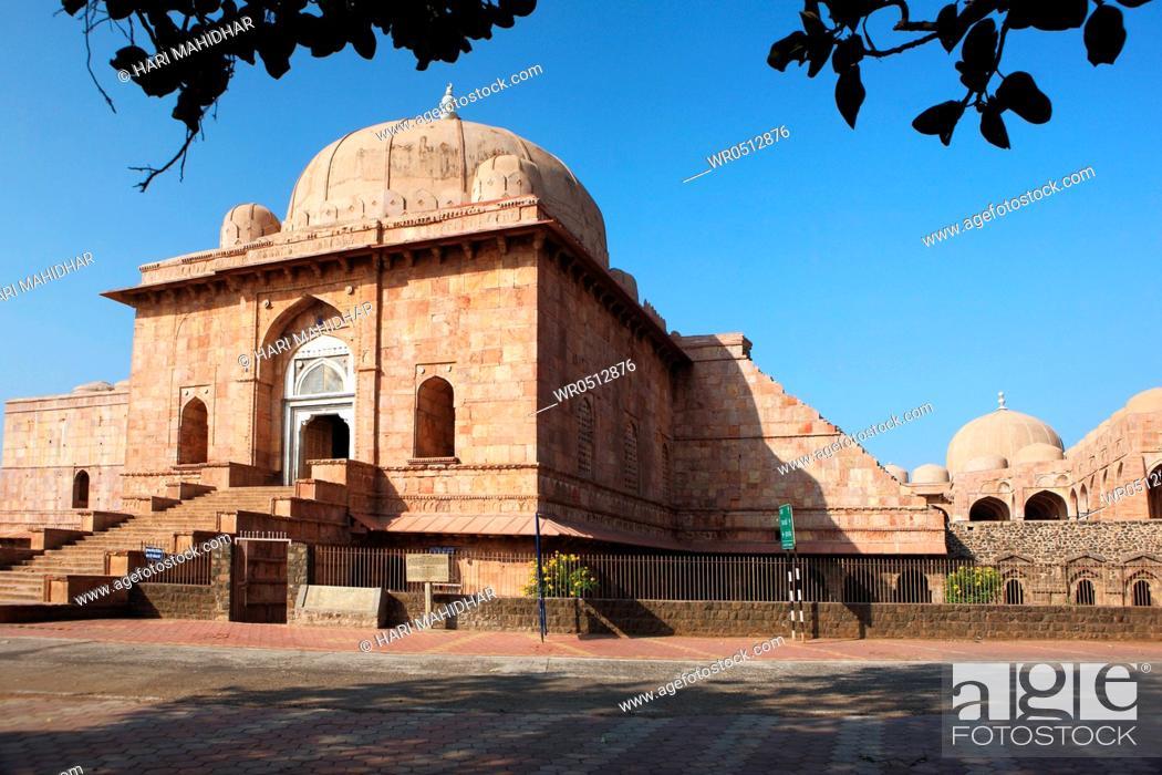 Stock Photo: Jama masjid , Mandu , Dhar , Madhya Pradesh , India.