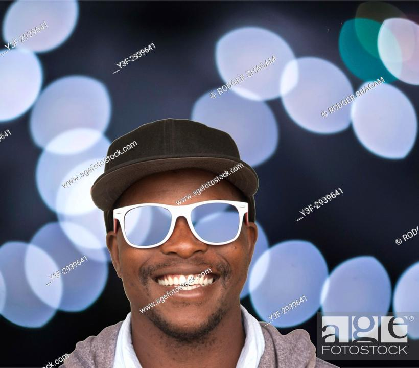 Stock Photo: Cool Dude. Nice shades.