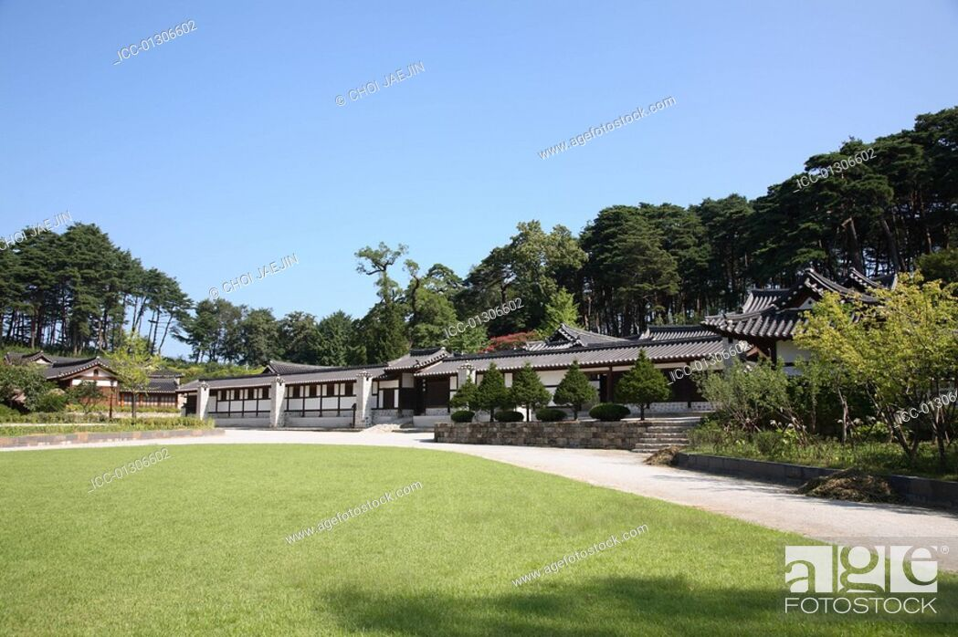 Imagen: Sunkyojang, the noble's house in Joseon Dynasty located in Unjeong-dong, Gangneung, Gangwon-do, Korea.