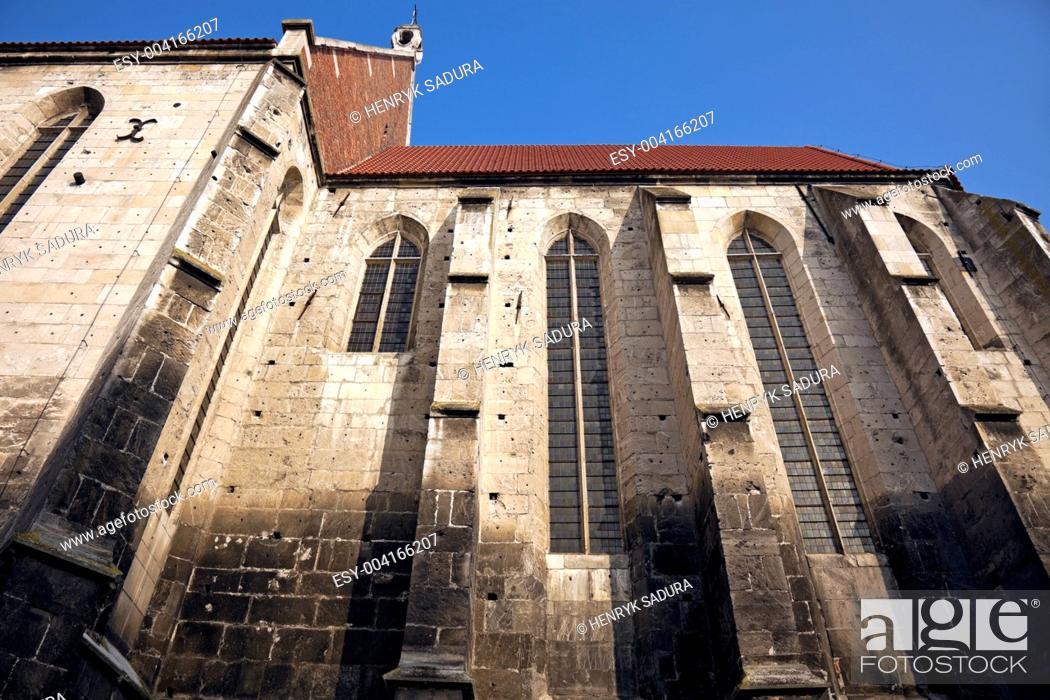 Stock Photo: Basilica in Wislica.